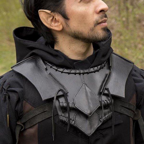 Epic Armoury gorget elfe noir