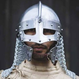 Epic Armoury Viking spectacle helmet with chainmail