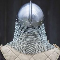 Viking skådespelningshjälm med chainmail