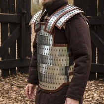 (Early) medieval tunic Clovis, natural-brown