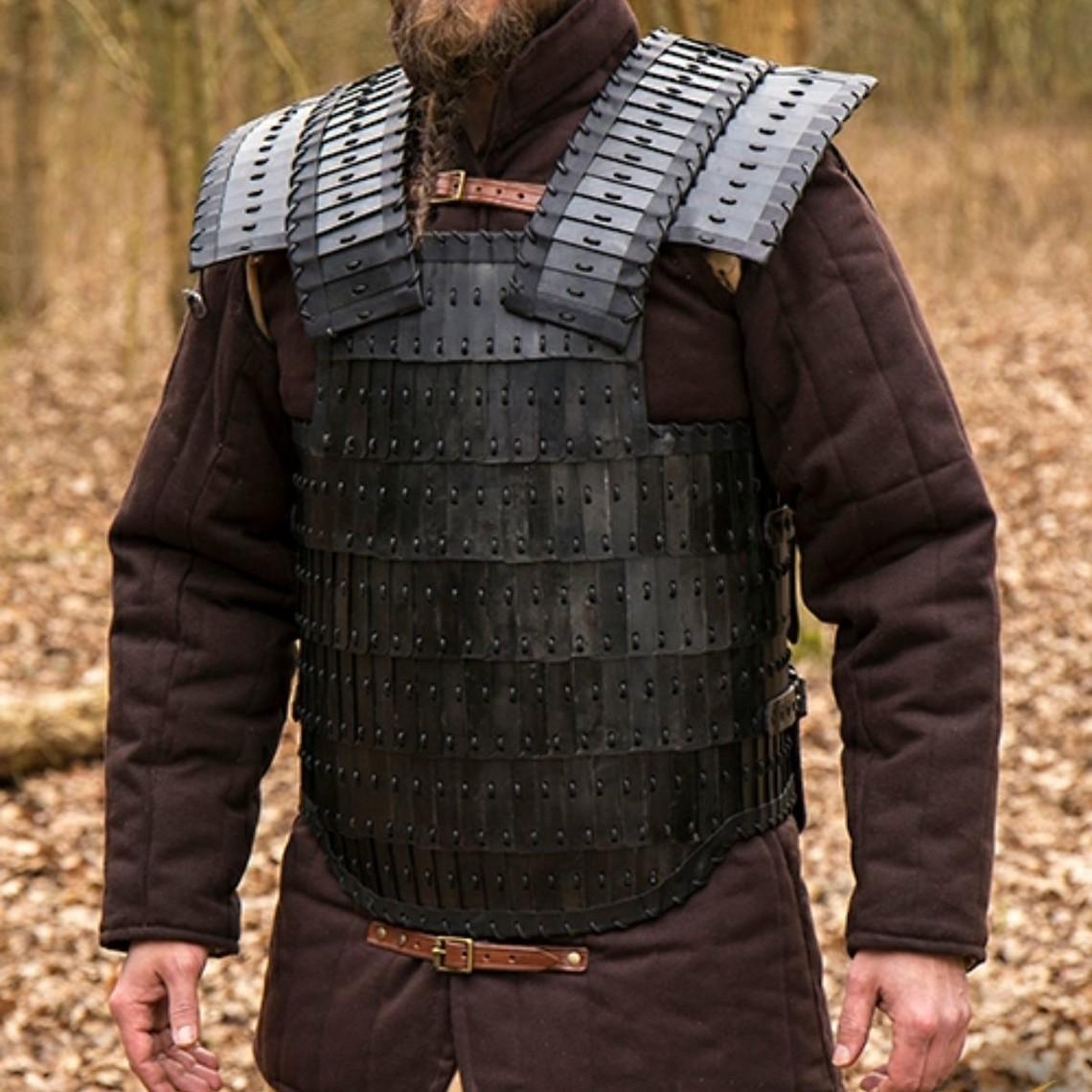 Epic Armoury Armadura lamelar altomedieval Visby, bronceada