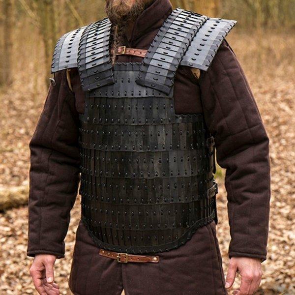 Epic Armoury Wczesnośredniowieczny Lamelka Visby, opalony