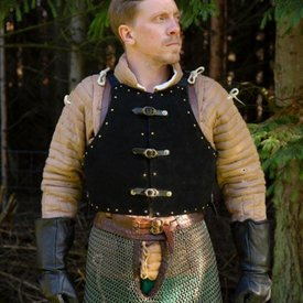 Epic Armoury 15. århundrede brigandine, sort