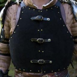Brigandine del siglo XV, negro