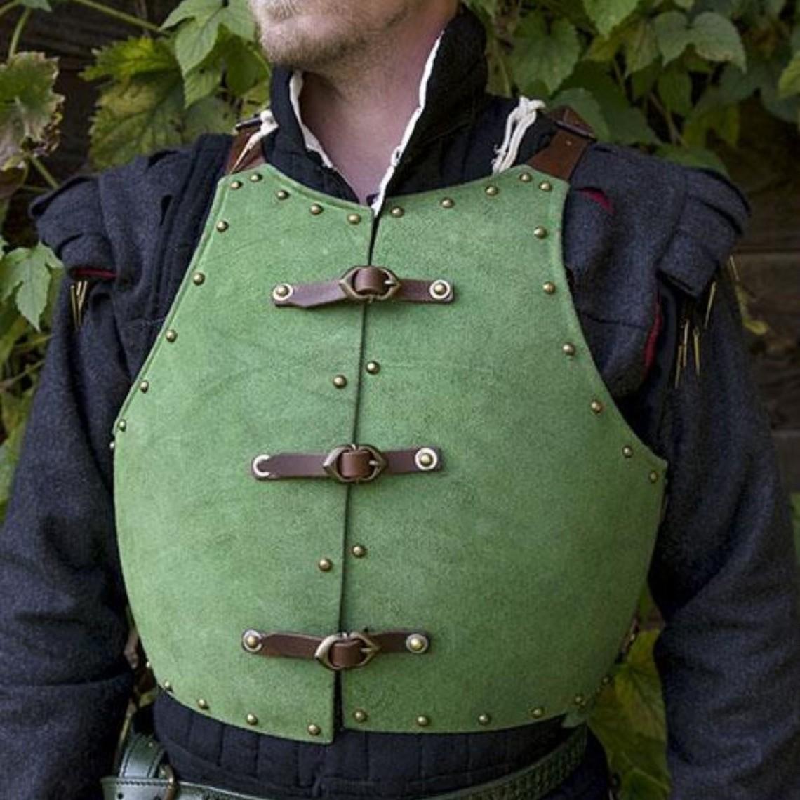 Epic Armoury Brigandina del siglo XV, verde