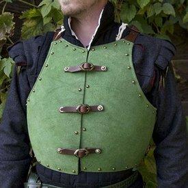Epic Armoury 15. århundrede brigandine, grøn