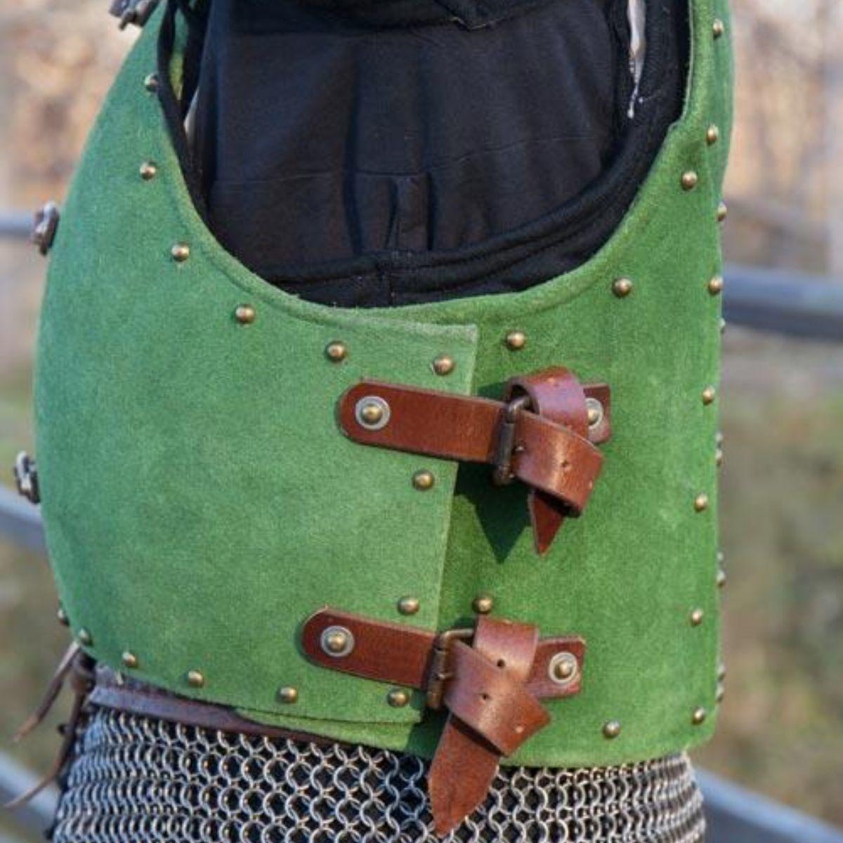 15de eeuwse brigandine, groen