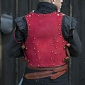 Epic Armoury 15de eeuwse brigandine, rood