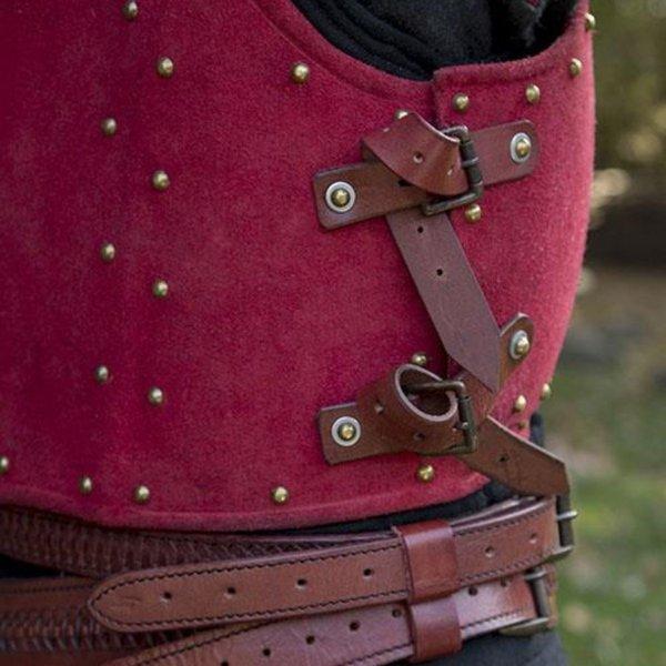 Epic Armoury 15. århundrede brigandine, rød