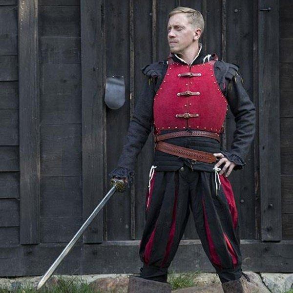 Epic Armoury 15th century brigandine, red