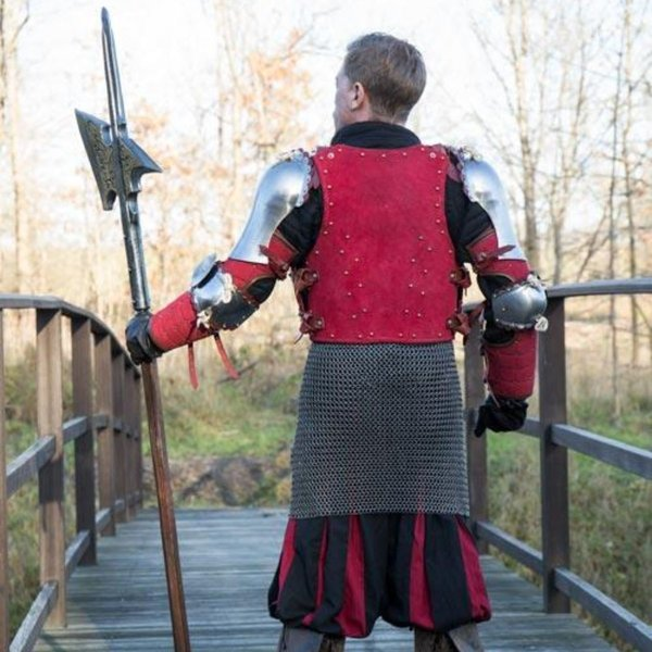 Epic Armoury Brigantino del XV secolo, rosso