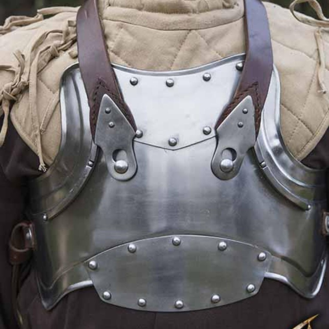 Epic Armoury Merc staal-leren borstpantser