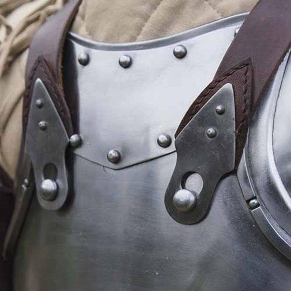 Epic Armoury Merc Stahl-Leder-Kürass