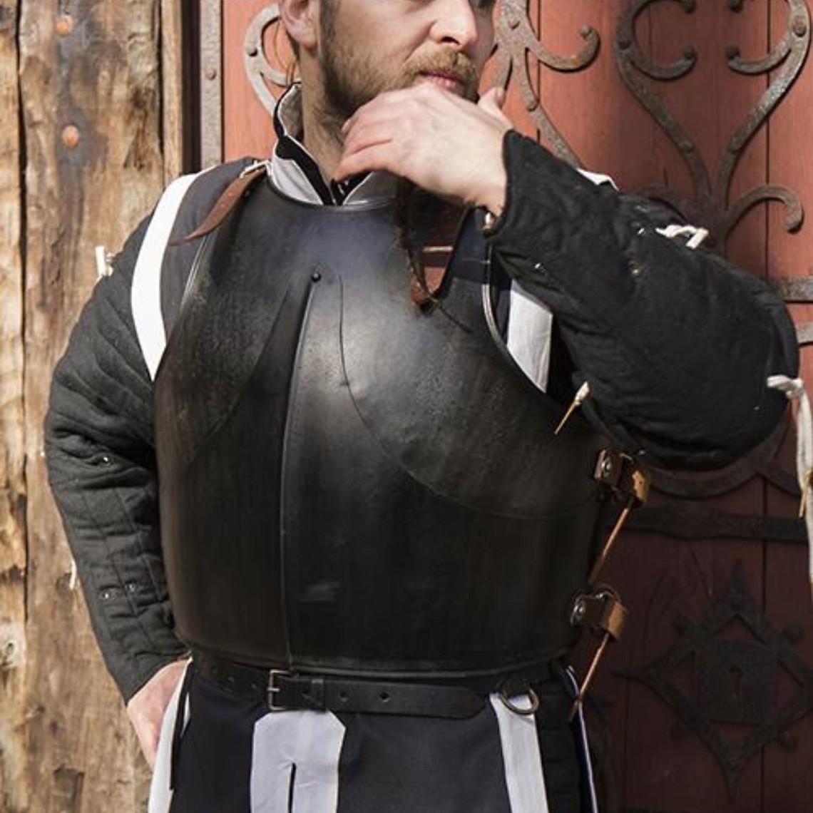 Epic Armoury Cuirasse et plaque arrière milanaises, bronzées