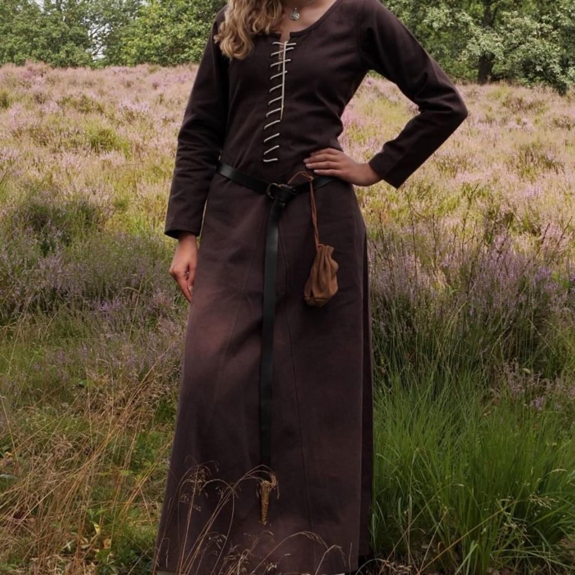 Cotehardie Christina, marron