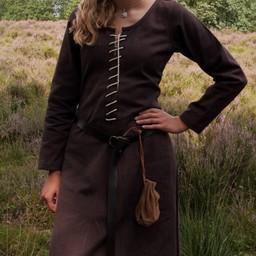 Cotehardie Christina, marrone