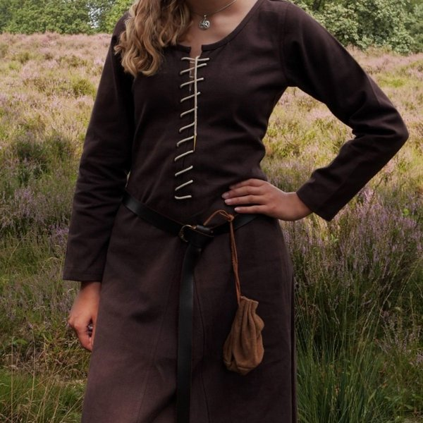 Cotehardie Christina, brun