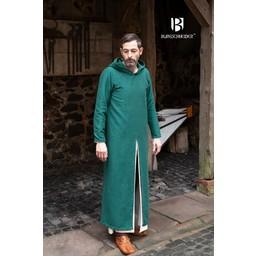 Medieval huva tunika Renaud, grön
