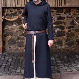 Burgschneider Túnica medieval con capucha Renaud, negra.