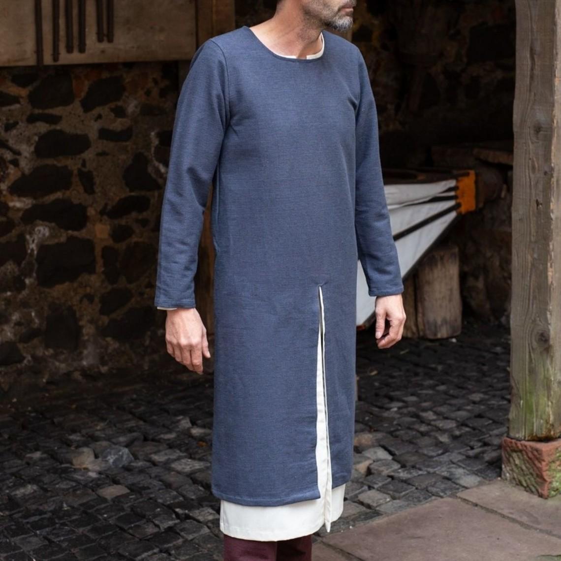 Burgschneider Lange middeleeuwse tuniek Arnaud, grijs