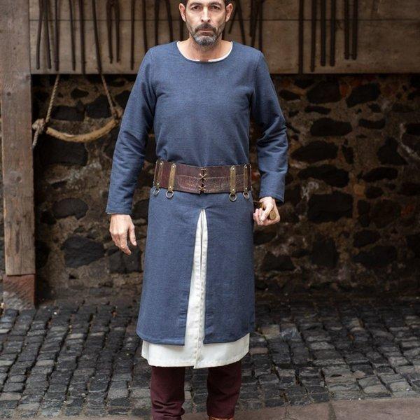 Burgschneider Long medieval tunic Arnaud, grey