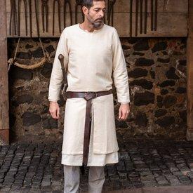 Burgschneider Long medieval tunic Arnaud, natural