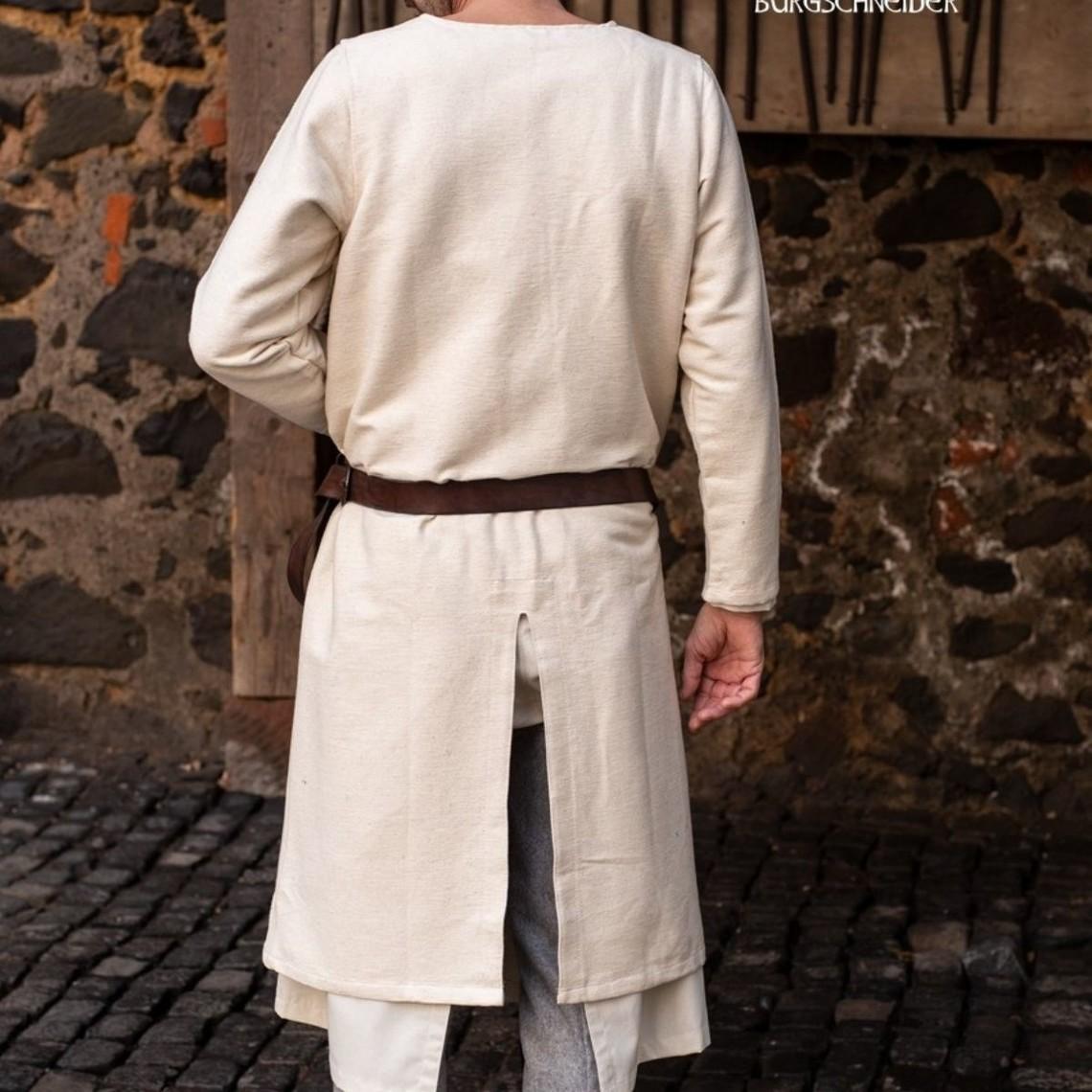 Burgschneider Długa tunika średniowieczny Arnaud, naturalne