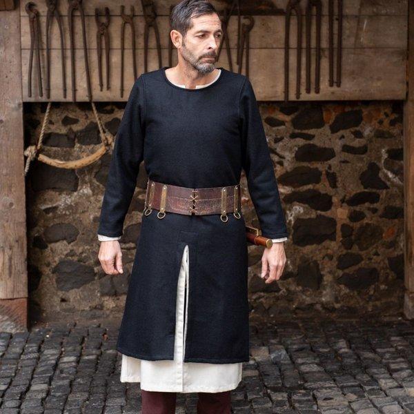 Burgschneider Mittelalterliche Tunika Everard, schwarz