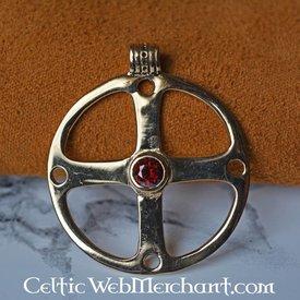 Celtic hjul amulett
