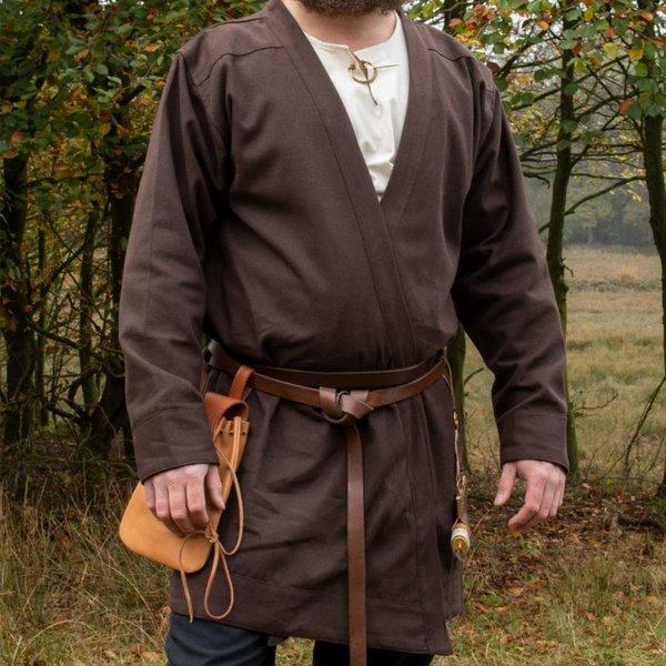 Caftan du haut Moyen Age Njord, marron