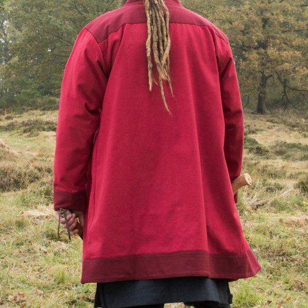 Frühmittelalterlicher Kaftan Njord, rot