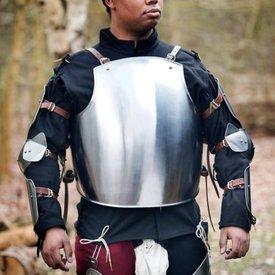 Epic Armoury Medeltida italiensk cuirass & bakplatta
