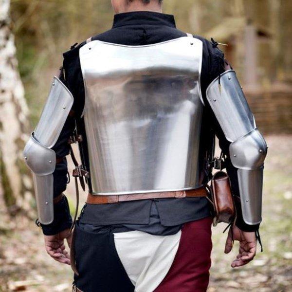 Epic Armoury Middelalderlig italiensk cuirass & bagplade