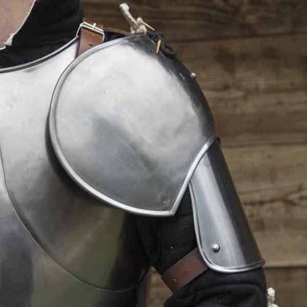 Epic Armoury Middeleeuws schouderpantser Richard