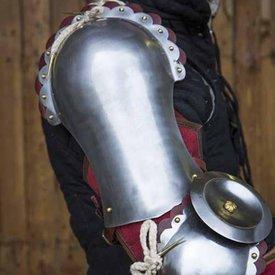 Epic Armoury Tunget pauldrons, rød
