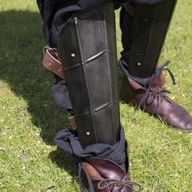 Epic Armoury Beinschienen Drake, bronziert