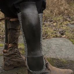 Perzische onderbeenbeschermers, gebronsd