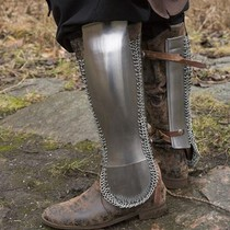 Epic Armoury Persian greaves, polished