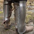 Epic Armoury Perzische onderbeenbeschermers, gepolijst