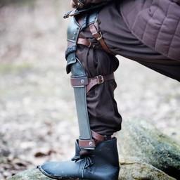 Rogue onderbeenbeschermers met kniestukken, gebronsd