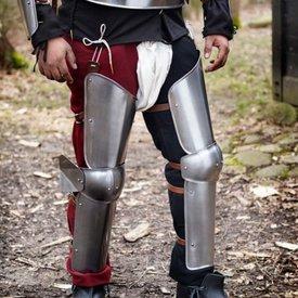 Epic Armoury Armadura de pierna completa del siglo XV.