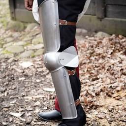 Full 15th century leg armour