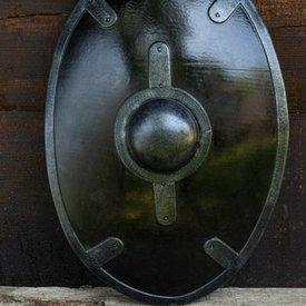 Epic Armoury LARP zwart auxiliae schild