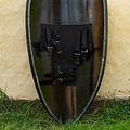 Epic Armoury LARP vliegerschild Black Knight