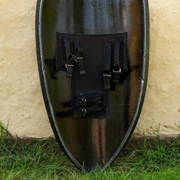 Epic Armoury LARP kite shield Black Knight