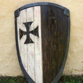 Epic Armoury LARP kite shield krzyżackiego
