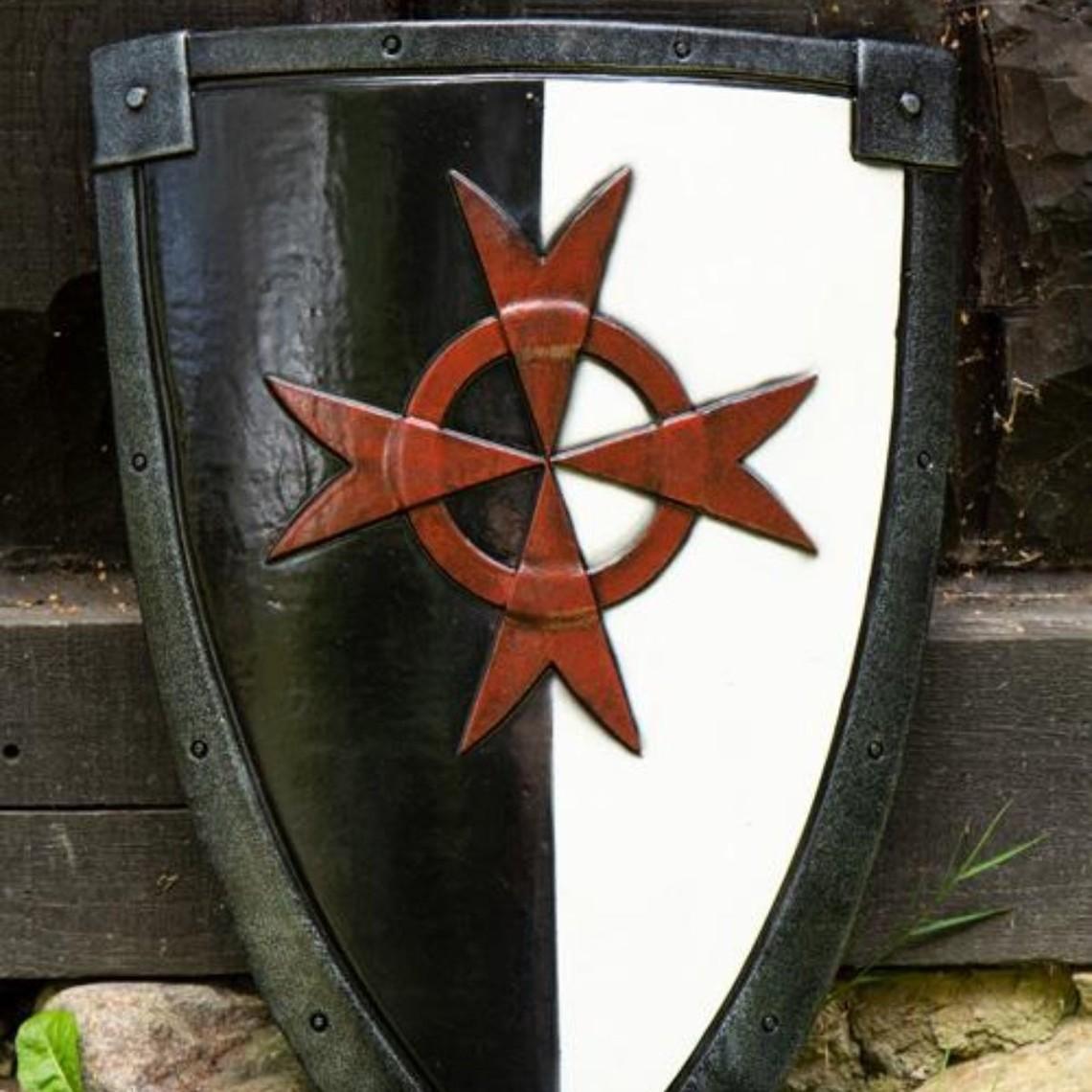 Epic Armoury LARP kite shield krucjata