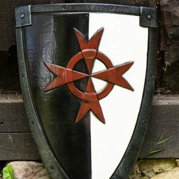 LARP kite shield krucjata