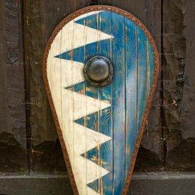 Epic Armoury Norman escudo LARP azul-blanco