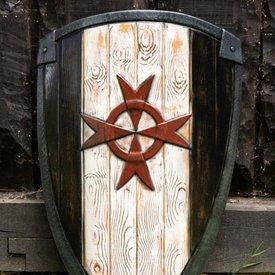 Epic Armoury LARP kite shield Knight Templar